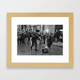 Street wizard Framed Art Print