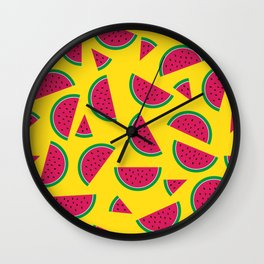 Tutti Fruiti - Watermelon Wall Clock
