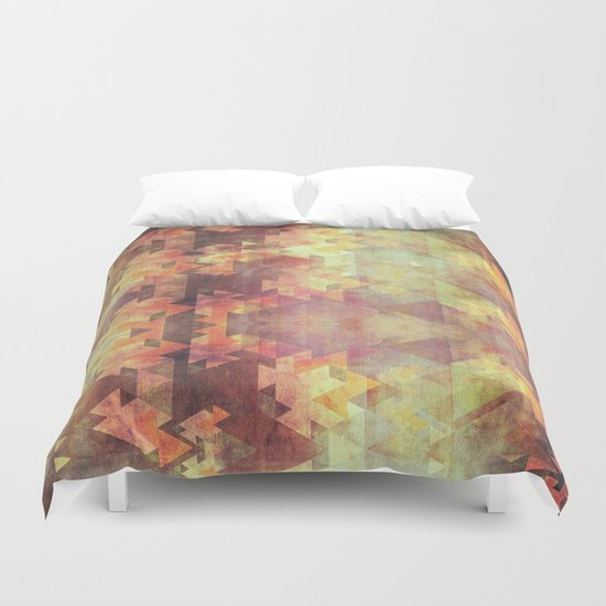 Rearrange the sky Duvet Cover