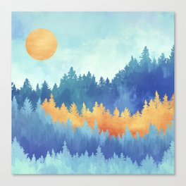 Frozen Forest 1:1 Canvas Print