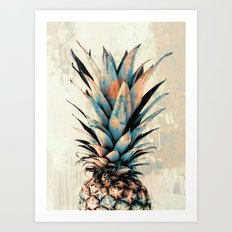 PINEAPPLE 3 Art Print