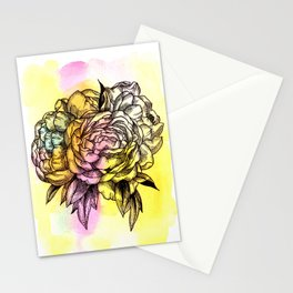 Plant Series: Peony Stationery Cards
