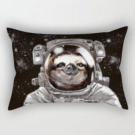 Astronaut Sloth Selfie Rectangular Pillow
