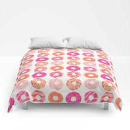 Half Dozen Donuts – Pink & Peach Ombré Comforters