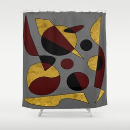 Abstract #132 Shower Curtain