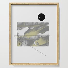 Abstract Modern Composition - Tropical Serving Tray