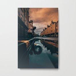 Reflect. Metal Print