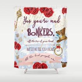 Bonkers Shower Curtain