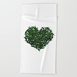 Heart Beach Towel