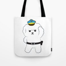 Animal police - Bichon Frisé Tote Bag