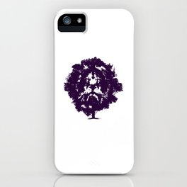 Lion Tree Savanna Zodiac Gift iPhone Case