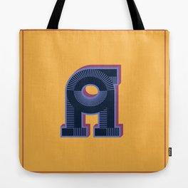 Alphabet Drop Caps Series- A Tote Bag