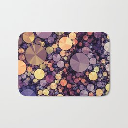 Purple Berries Bath Mat