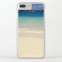 The Devil's Isles Clear iPhone Case