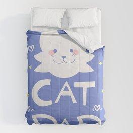 Cat Dad Comforters