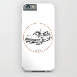 Crazy Car Art 0213 iPhone Case