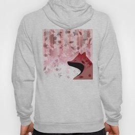 Fox In Falling Leaves Unique Design Hoody