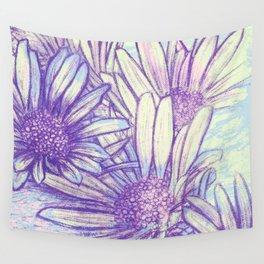 daisies Wall Tapestry