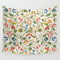 sia Wall Tapestries featuring Spring by BellagioVista