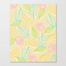 summer vibes all vibrant Canvas Print