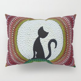 Cat likes to greet the dawn Pillow Sham