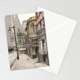 North Beach, SF Stationery Cards
