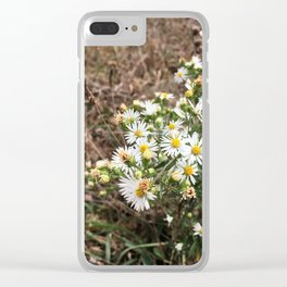 Tennessee Daisies Clear iPhone Case