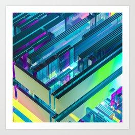 blunder box Art Print