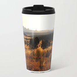 Sawtooth Mountains - New Mexico Travel Mug