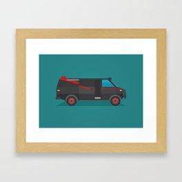 A-team Framed Art Print