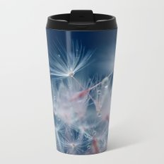 Snow Dandelion Metal Travel Mug