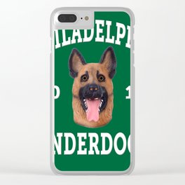 underdogs Clear iPhone Case