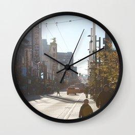 Granville Street Wall Clock
