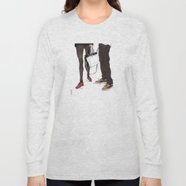 Mismatched, But Not Incompatible by Kat Mills Long Sleeve T-shirt
