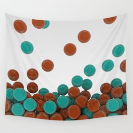 Bubble Gum Drop Wall Tapestry