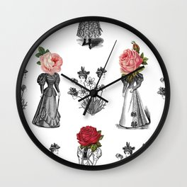 The Dreams of Flowers | The Tables Have Turned Wall Clock