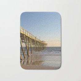 Into the Sea, Fishing Pier and Ocean Bath Mat