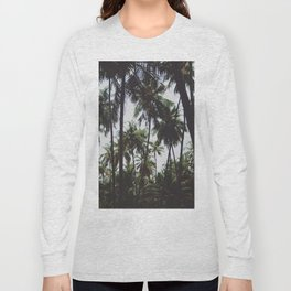 FOREST - PALM - TREES - NATURE - LANDSCAPE - PHOTOGRAPHY Long Sleeve T-shirt
