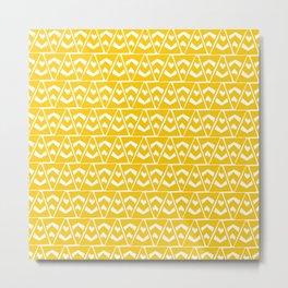 taos, triangle rug pattern Metal Print