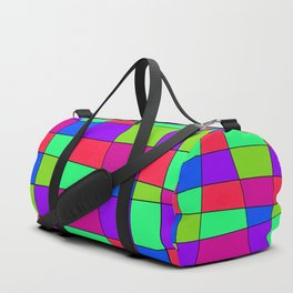 Colorful Window Four Duffle Bag