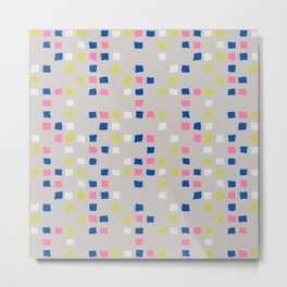 Tic Tac Tile - Texture Series 1 Metal Print