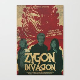 "Doctor Who ""The Zygon Invasion"" Canvas Print"