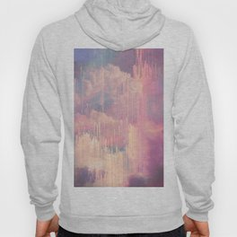 Candy Glitched Sky Hoody