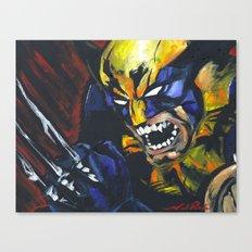 Wolverine X-Men Logan Canvas Print