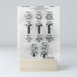 Self Locking screw Mini Art Print