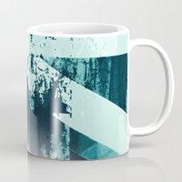 snowboarding Mugs featuring x-treme boarding by JG-DESIGN