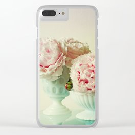 Her Heart Sang a Beautiful Song Clear iPhone Case
