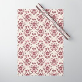 Afternoon Tea Damask Wrapping Paper