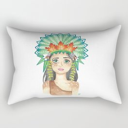 Crown of Leaves Rectangular Pillow