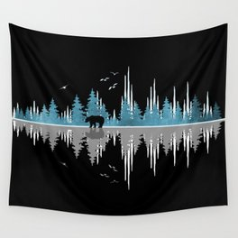 The Sounds Of Nature - Music Sound Wave Wall Tapestry
